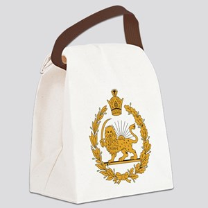 Persia Coat Of Arms Canvas Lunch Bag